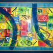 2004 -Acrylique sur papier 50x65
