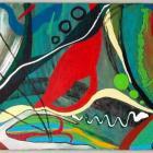 2007 - Acrylique sur toile 100x40