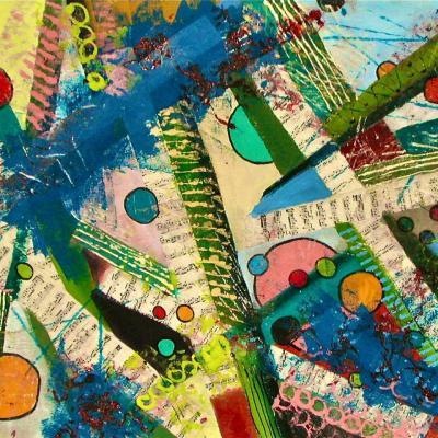 2009 - Acrylique sur toile 100x65