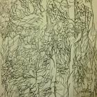 2012 - Acrylique et craie sur papier 50x65