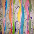 2011 - Acrylique et collage sur papier 50x65