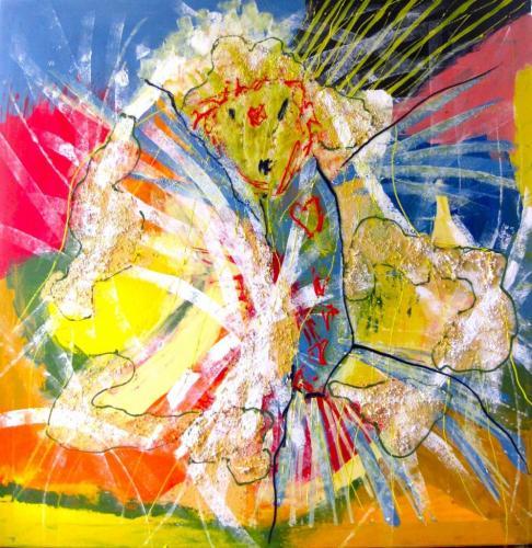 2011 - Acrylique sur toile 80x80