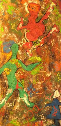2011 - Acrylique sur toile 115x55