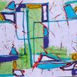 2005 - Acrylique sur papier 50x65